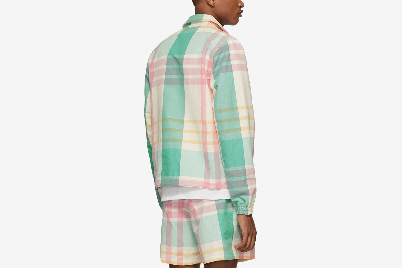 Multicolor Madras Jacket