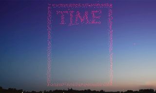 'TIME' Magazine Uses 958 Drones to Shoot Incredible Cover
