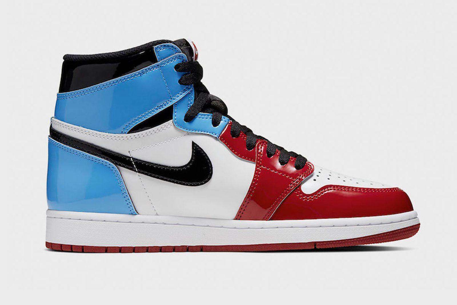 """nike Air Jordan 1 """"fearless"""" patent leather"""