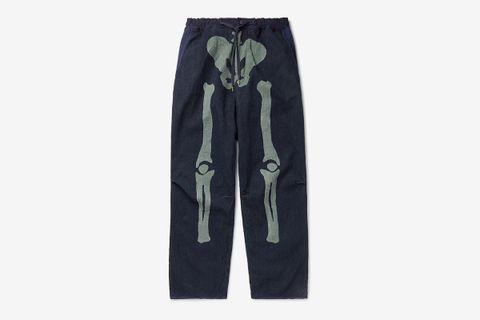 Dogi Indigo-Dyed Pants