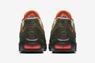 9a39ff54b0240c Nike Air Max 95 Olive Orange  Release Info