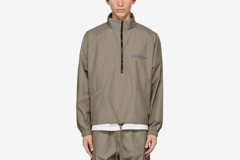 Half-Zip Track Jacket