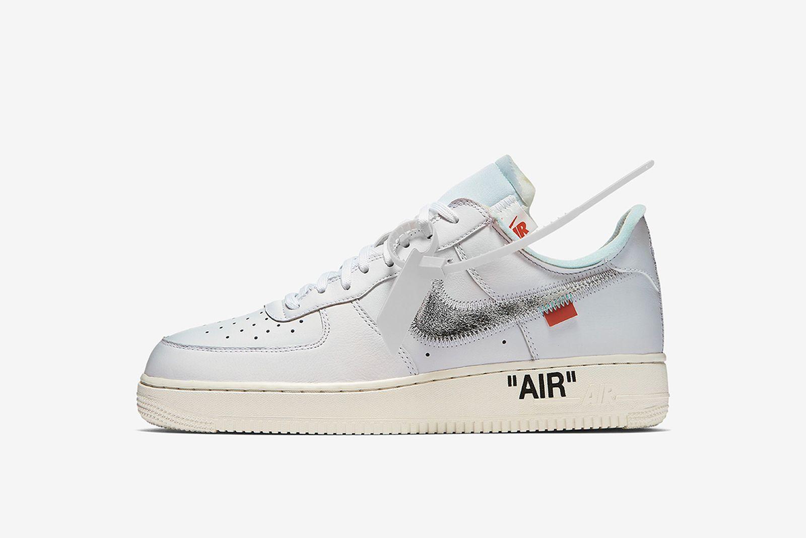air force 1 white GOAT Nike The Ten OFF-WHITE c/o Virgil Abloh