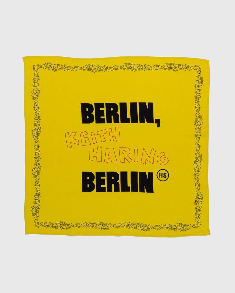 Highsnobiety x Keith Haring – Bandana Yellow