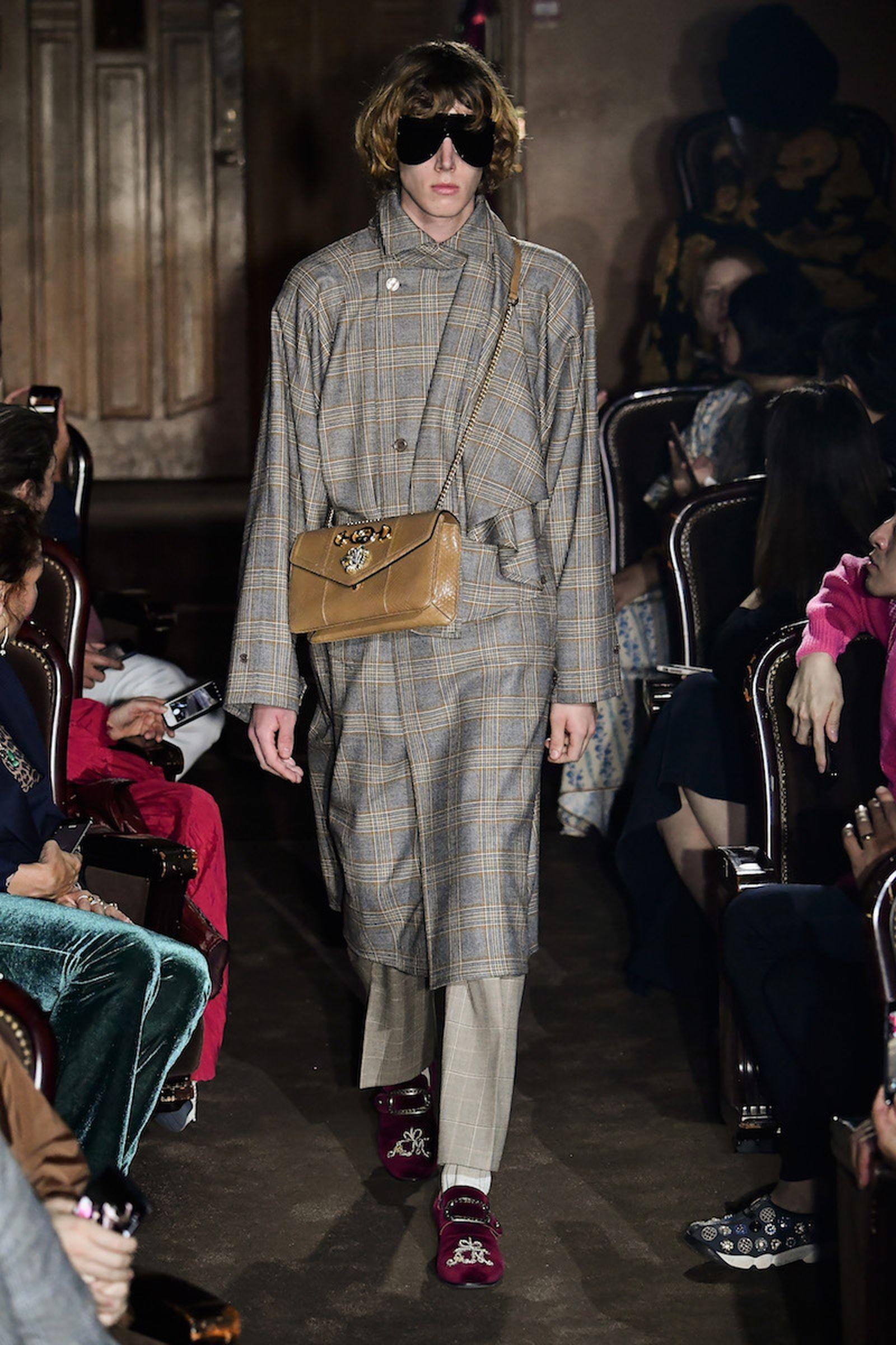 Gucci Runway Paris Fashion Week Spring/Summer 2019 Gucci SS19