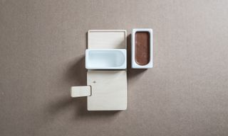 3D-Printed Cuboid Espresso Set by The Federal