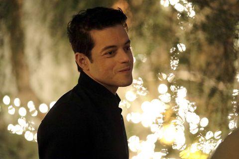 Rami Malek smiling