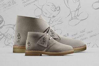 041af96233f4e7 Clarks Originals Celebrates 90 Years of Mickey Mouse With Commemorative  Desert Boots
