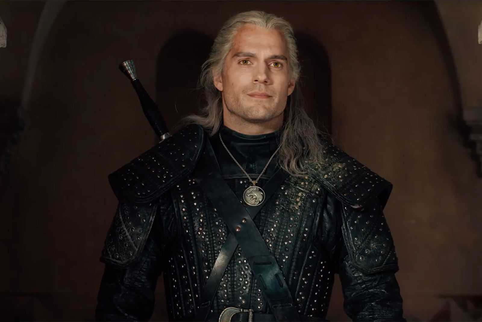 Henry Cavill as 'The Witcher'