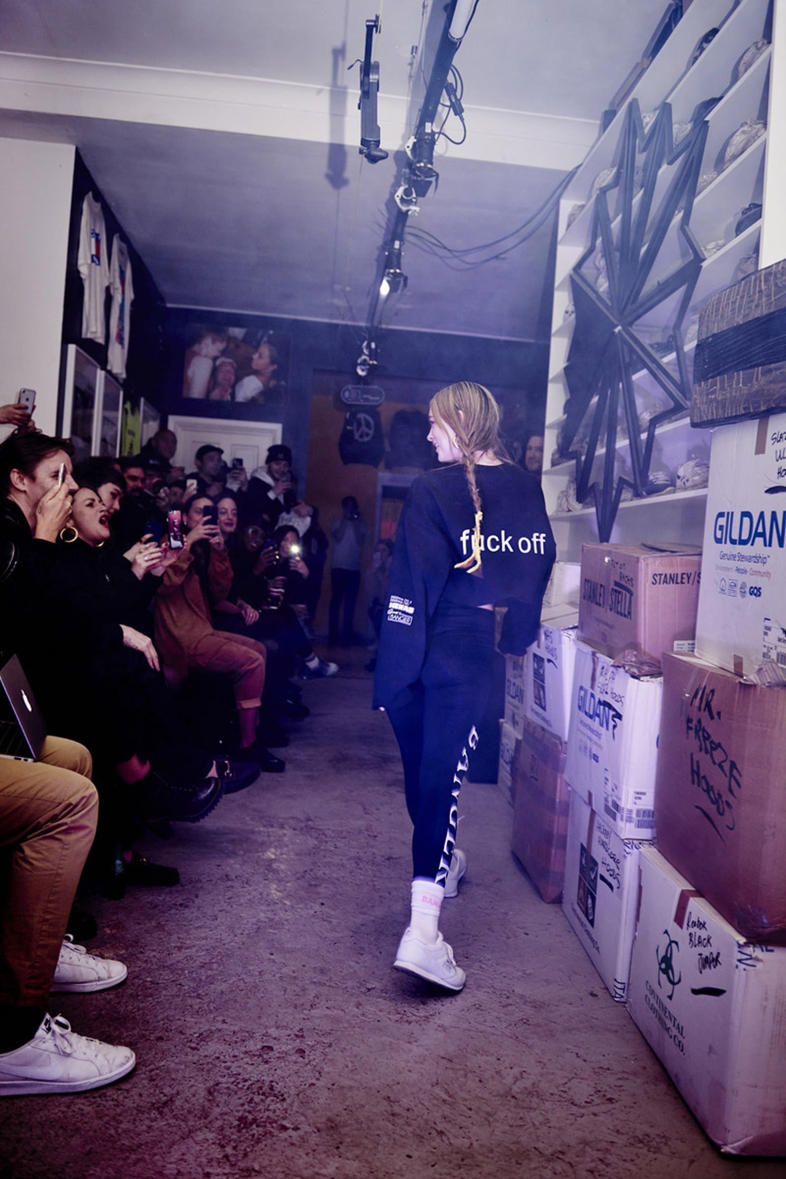 sportsbanger uk brand subverting streetwear Slazenger novelist