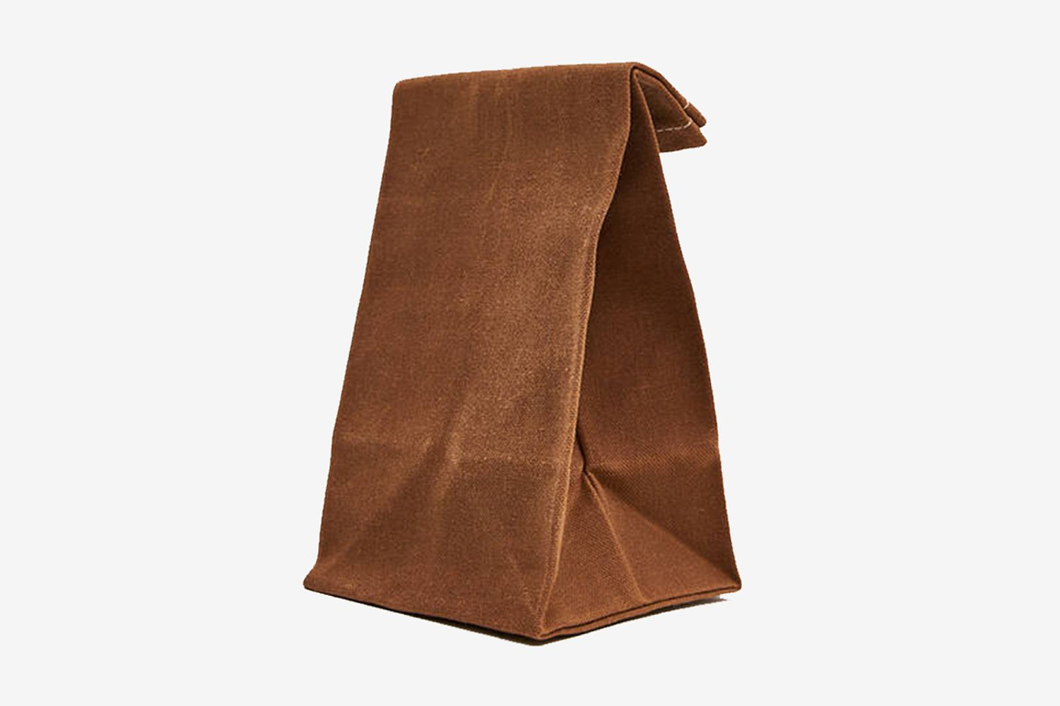 Waxed Canvas Snack Bag