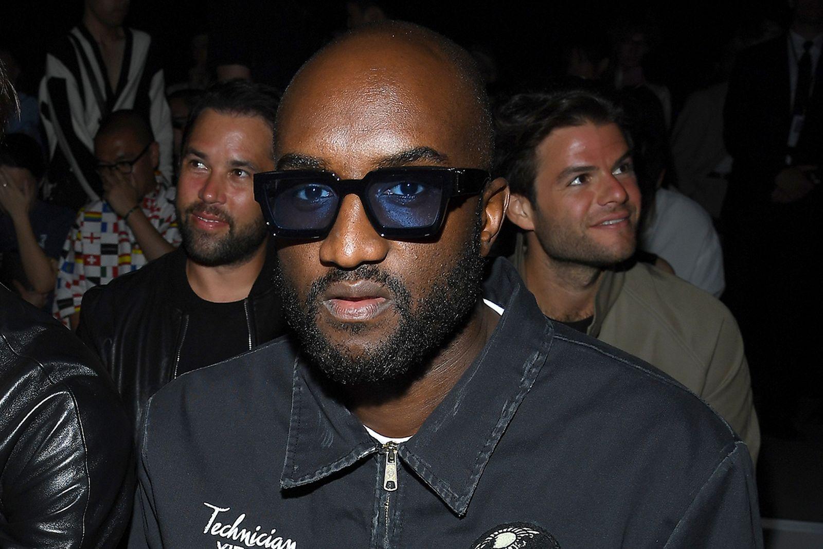 Virgil Abloh Fashion Week Sitting Glasses