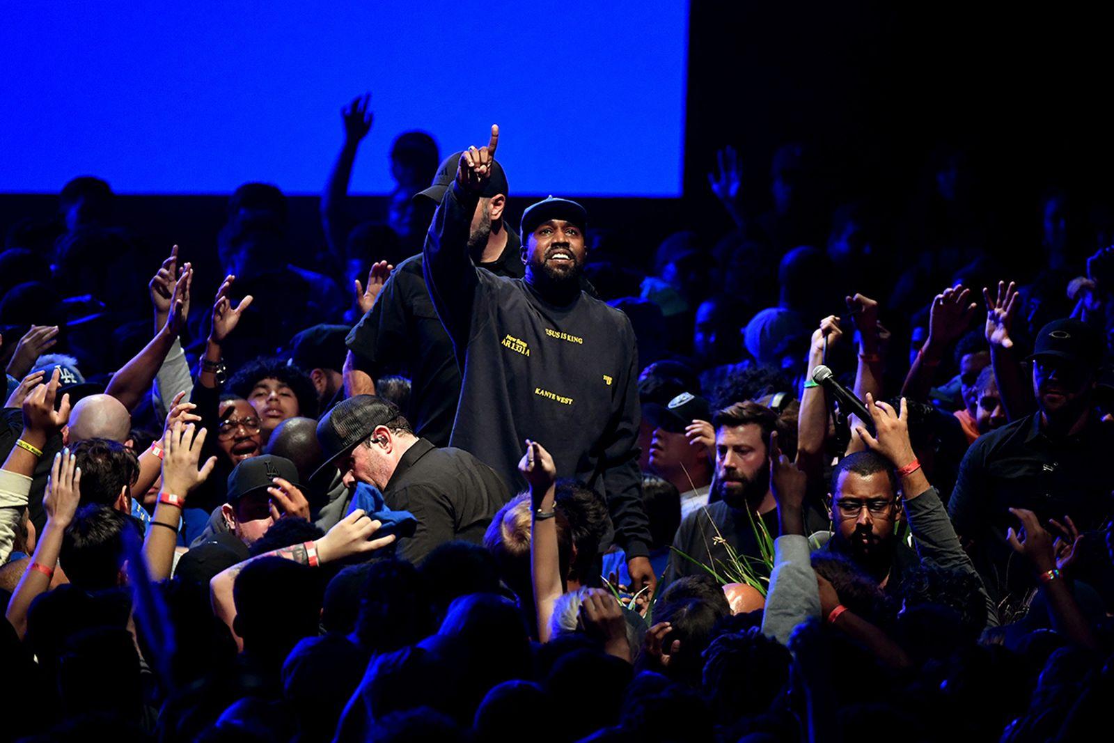 Kanye West Jesus Is King event