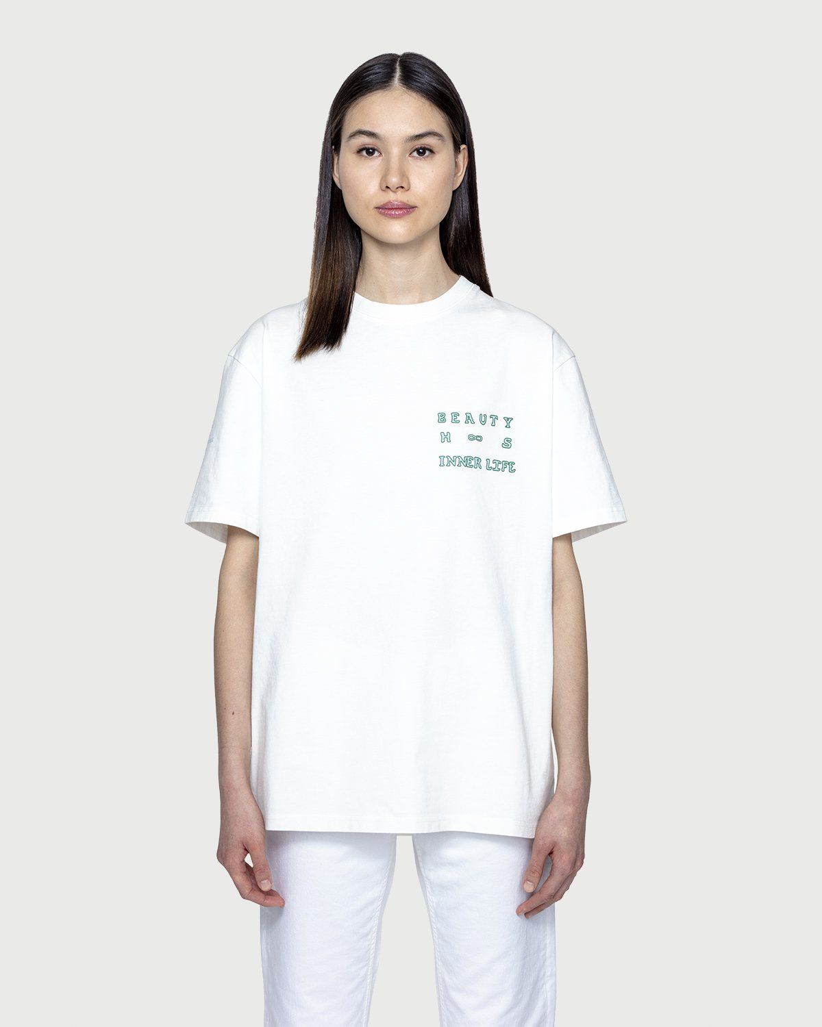 Inner Life by Highsnobiety - The Beauty T-Shirt White - Image 3
