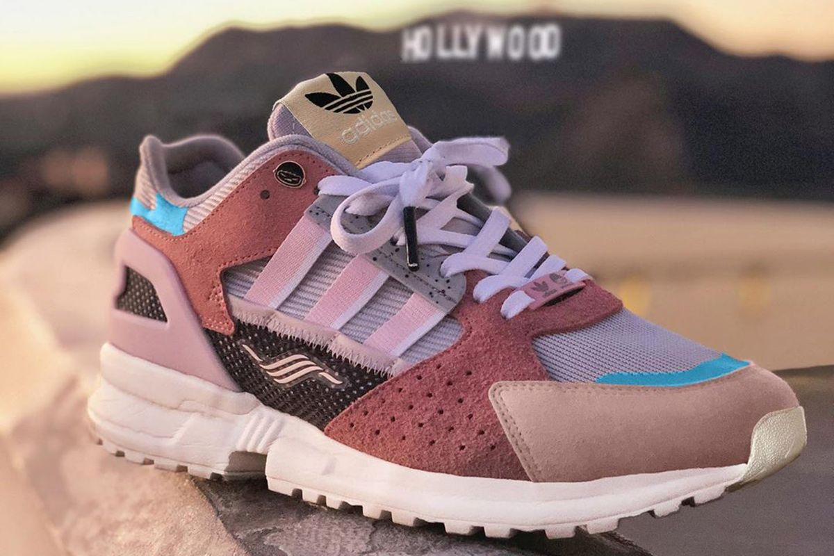 offspring x adidas Originals ZX 10000 collaborative sneaker