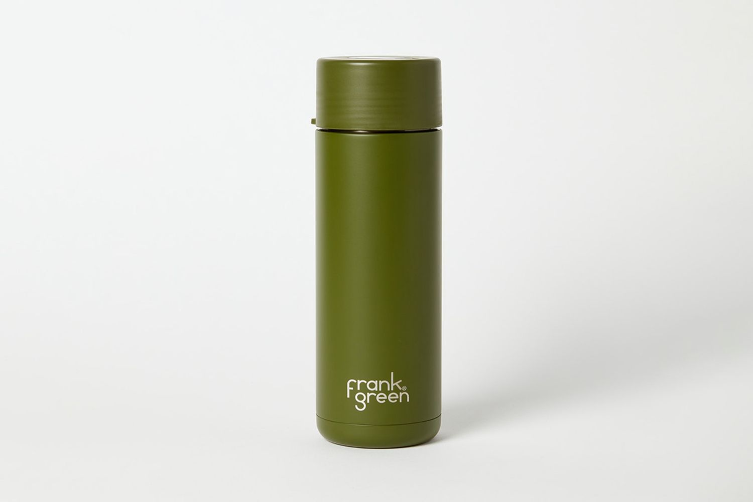 Ceramic Reusable Bottle With Straw Lid And Strap