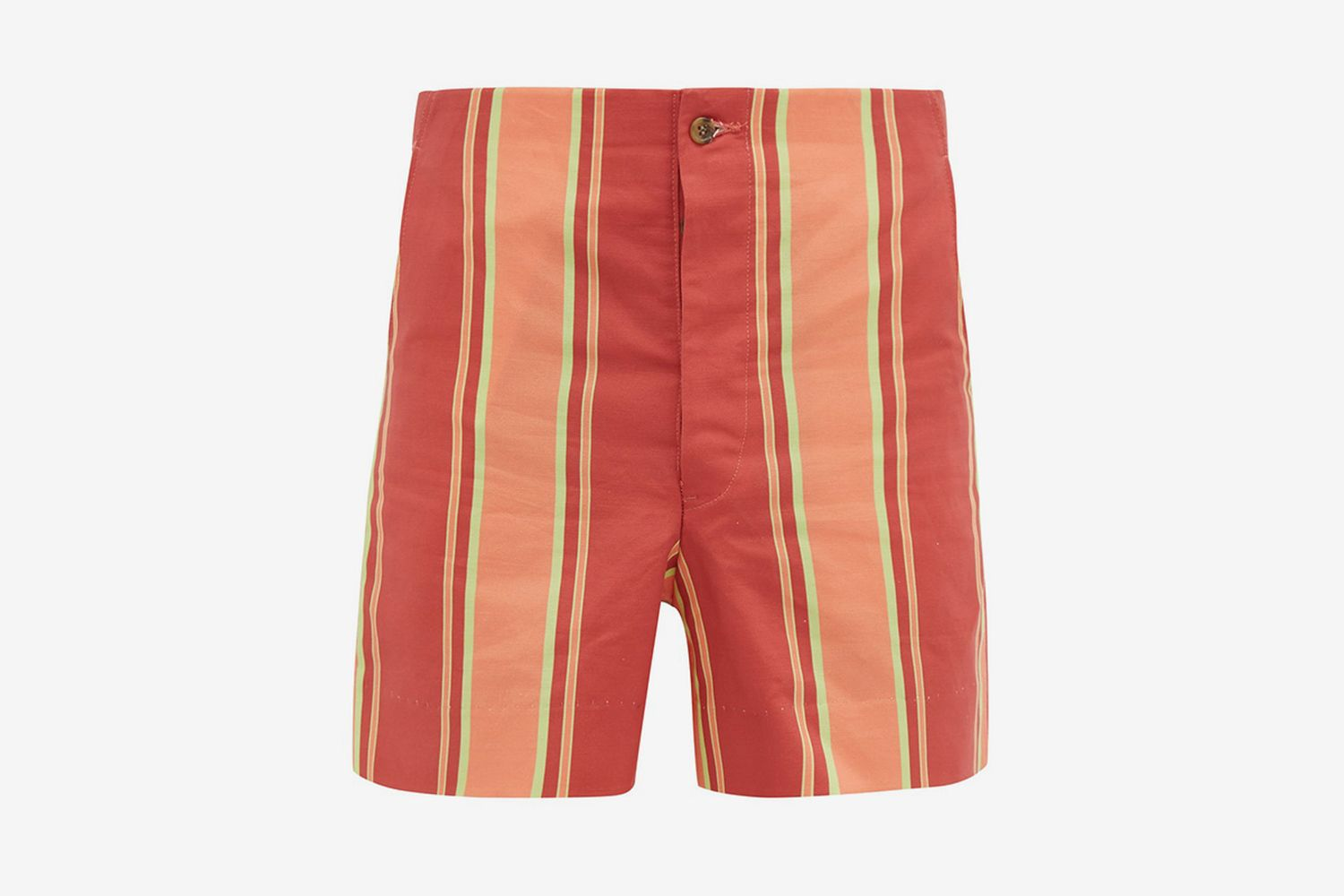 Rajasthan Striped Cotton Shorts