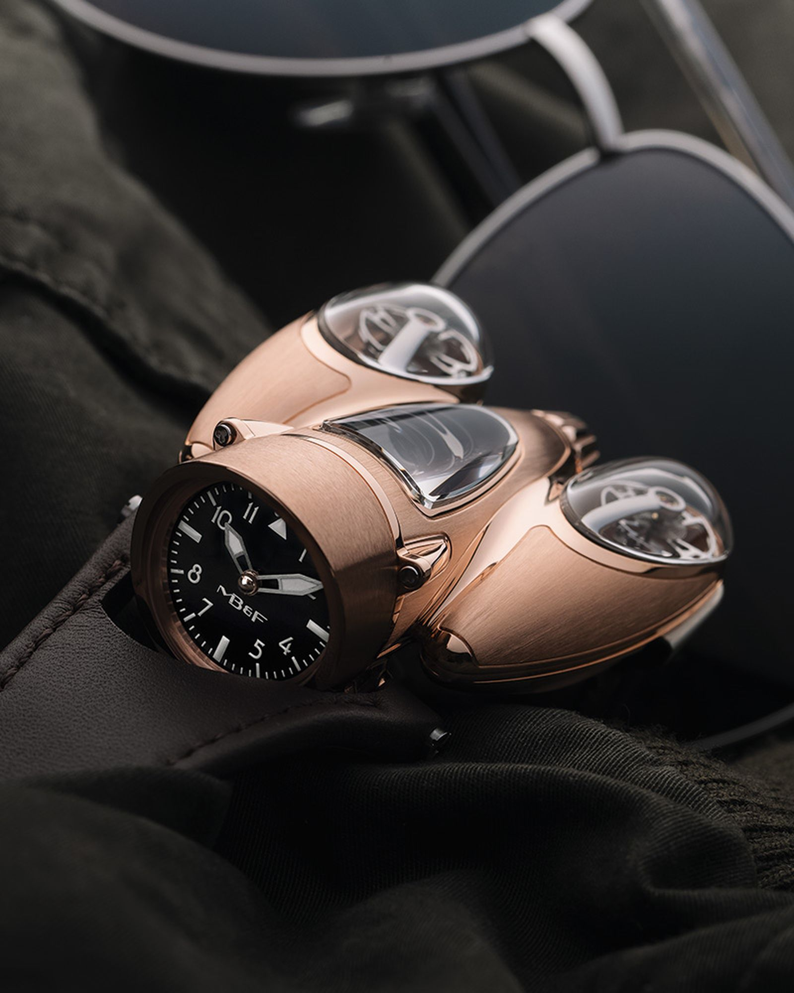 MB&F Horological Machine No. 9, Flow, was three years in the R&D stages. $182,000.