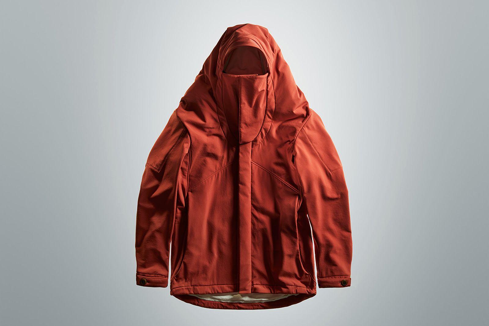 50000bc jacket future tech designed cavemen Vollebak outerwear techwear