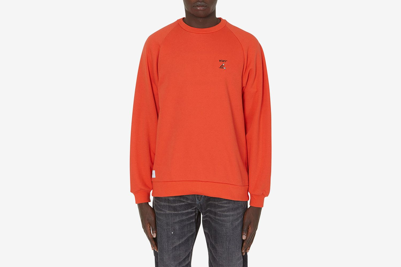 Crack Crewneck Sweatshirt