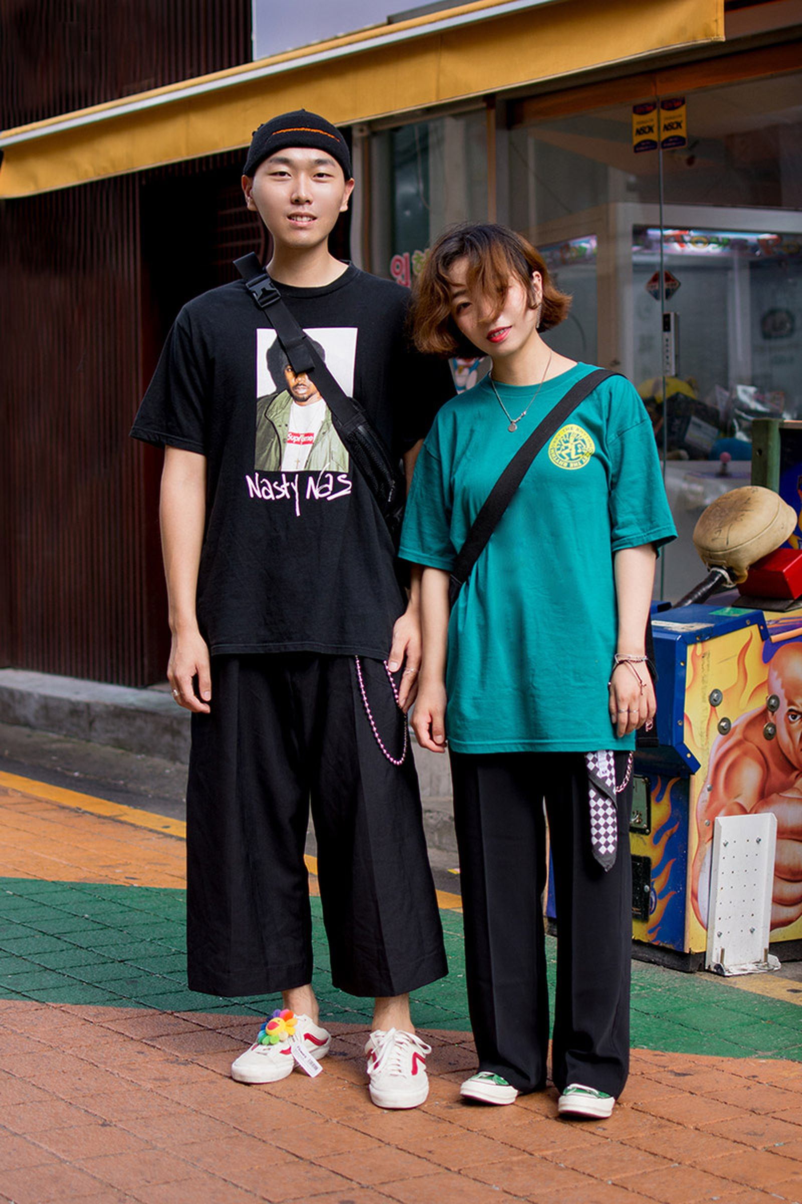 seoul street style july9 Balenciaga Children of the Discordance Gucci