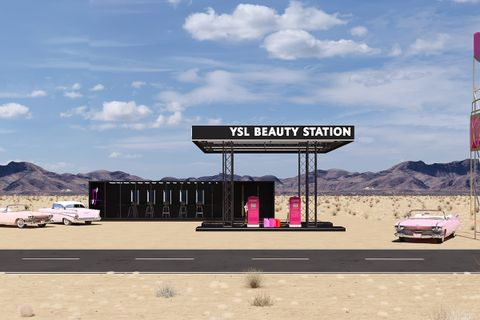 ysl coachella pop up YSL Beauty