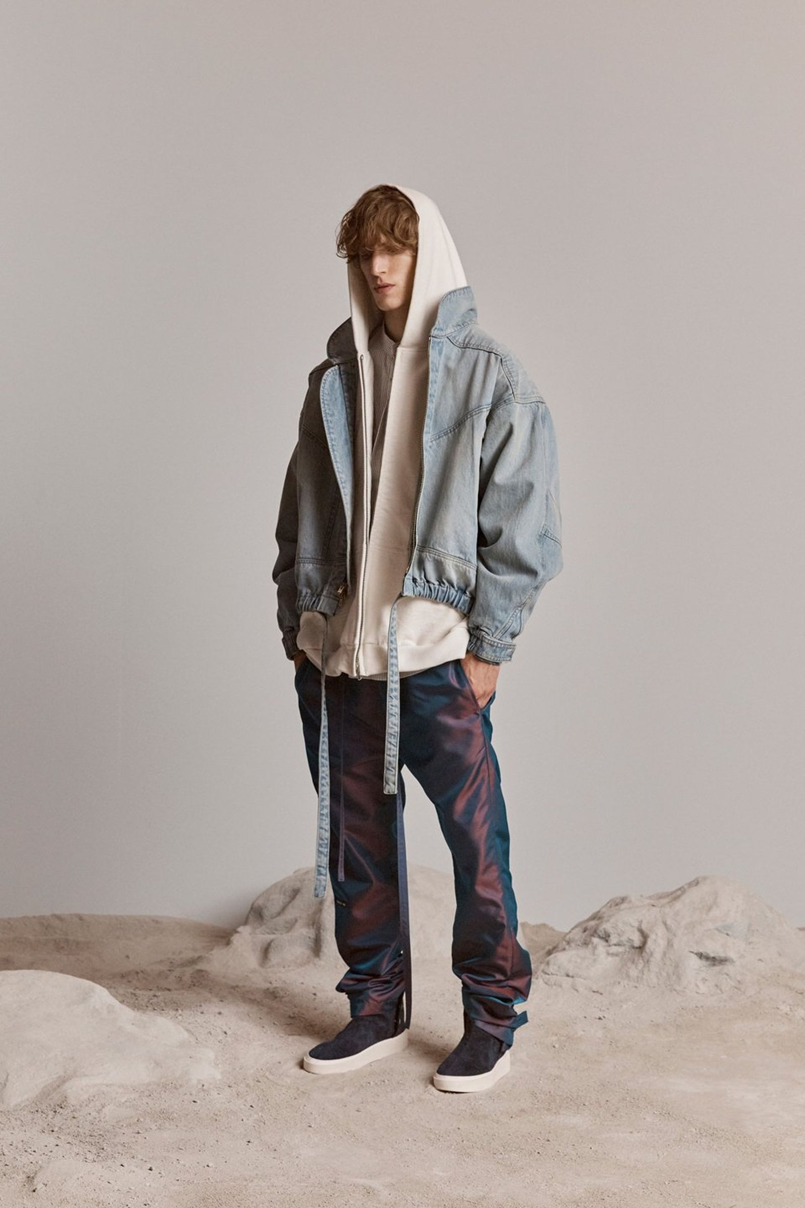 fear of god sixth collection lookbook Jared Leto