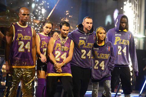 Philipp Plein's fashion show and Kobe Bryant tribute during Milan Fashion Week FW20