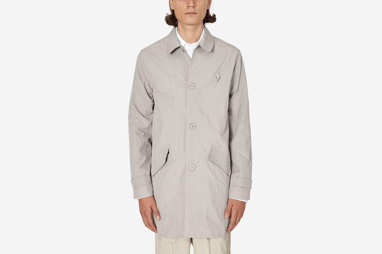 Water Resistant Welded Mac Coat