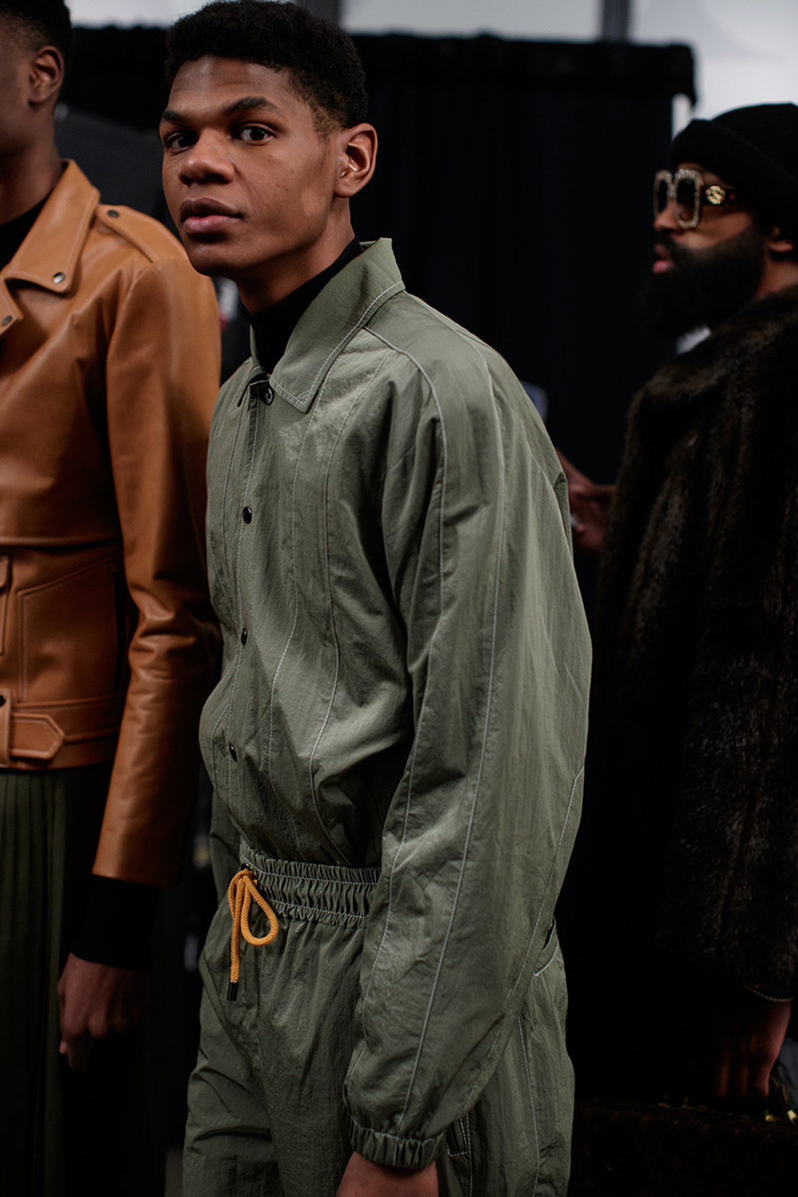 pyer moss fw18 fall winter 2018 new york fashion week nyfw
