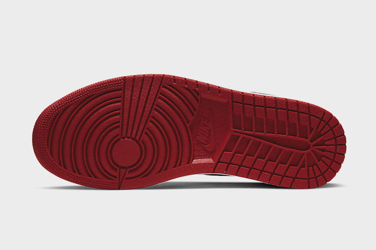 "nike Air Jordan 1 ""fearless"" red sole"
