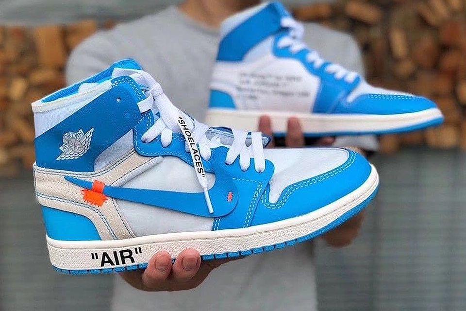 How Instagram Wears Nike X Virgil Abloh's Air Jordan 1 'UNC'