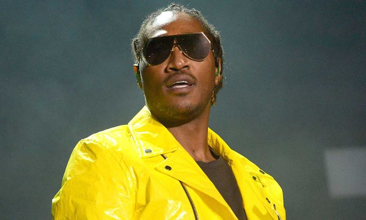 Future performing on stage