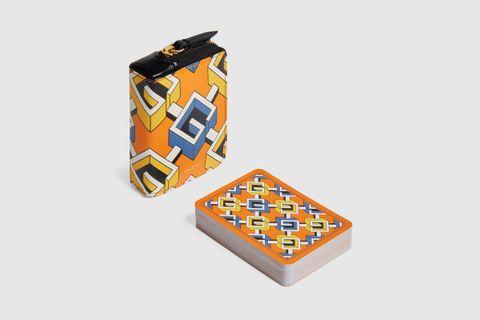 Geometric G Playing Cards
