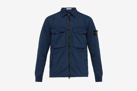 Technical Garment Dyed Overshirt