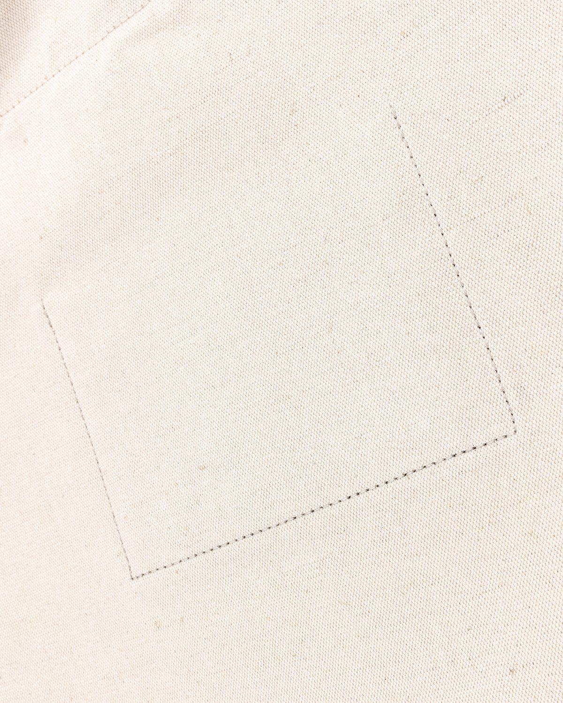Jil Sander – Large Flat Shopper Natural - Image 7