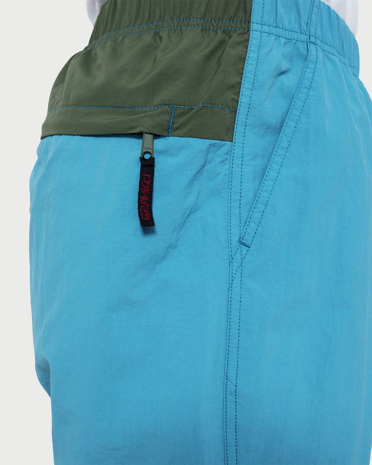 Gramicci - Shell Packable Shorts Aqua/Mocha - Image 3