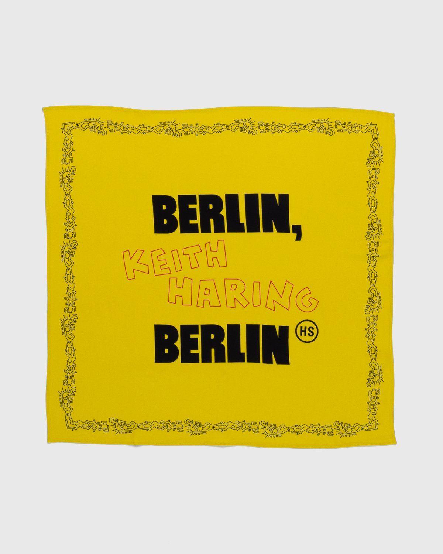Highsnobiety x Keith Haring – Bandana Yellow - Image 1