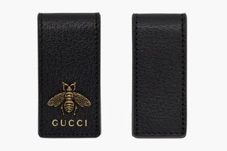 290e6391 Gucci's Luxe Black Leather Money Clip Trio Is Available Now