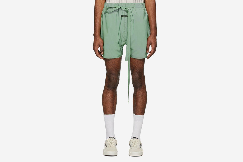 Iridescent Military Training Shorts