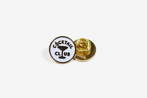 Cocktail Club Pin
