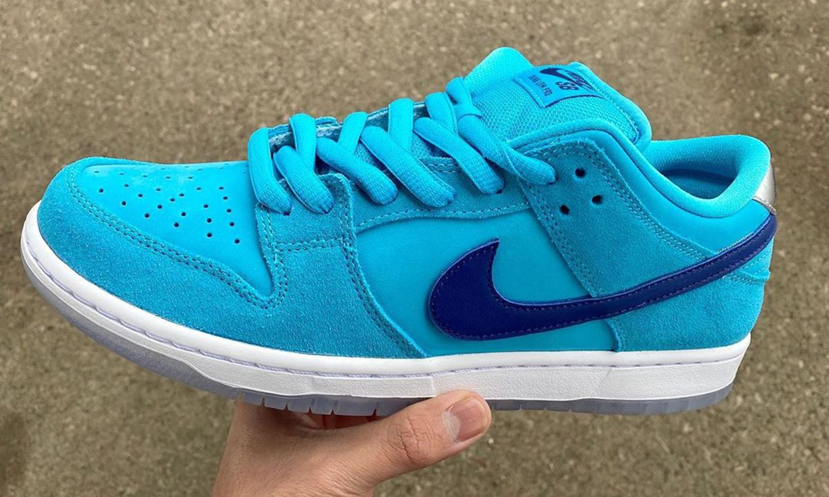 """This """"Blue Suede"""" Nike SB Dunk Low Could Be Released in April"""