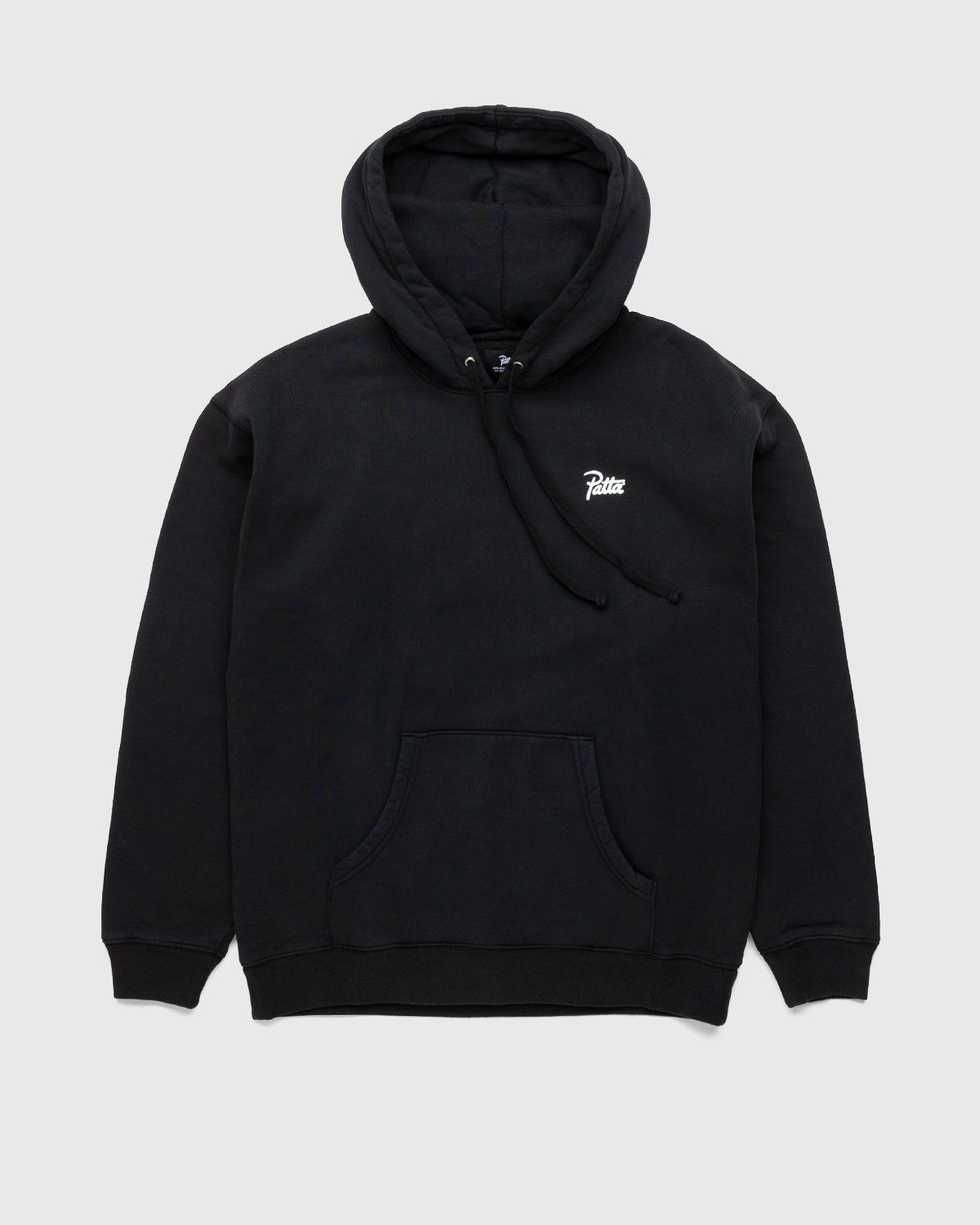 PATTA – This Or That Hooded Sweater Black - Image 2