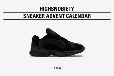 85f29613a92 Win the Triple Black adidas Originals Yung-1 in Today s Highsnobiety Advent  Calendar