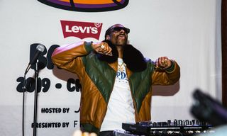 Levi's & Snoop Dogg Made a Grand Entrance at All-Star Weekend 2019