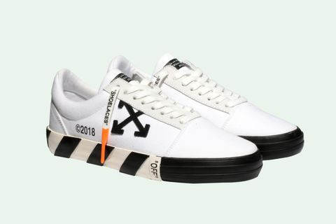 c9888d3782 These OFF-WHITE Sneakers are the Closest Thing to a Vans Collab