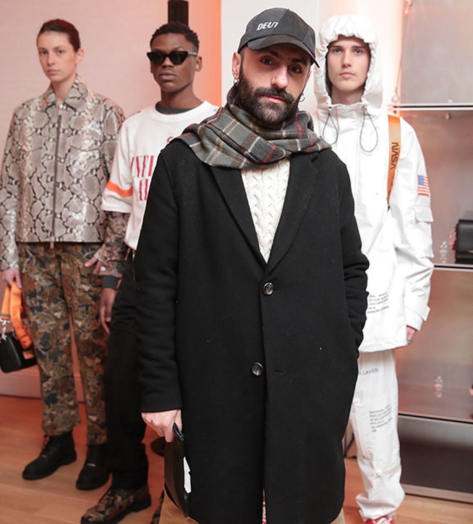 "PUBLIC FIGURE"" HERON PRESTON : AW18 PRESENTATION paris fashion week runway"