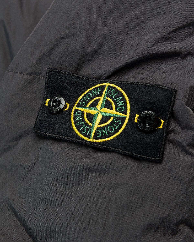 Stone Island – Real Down Jacket Charcoal - Image 4