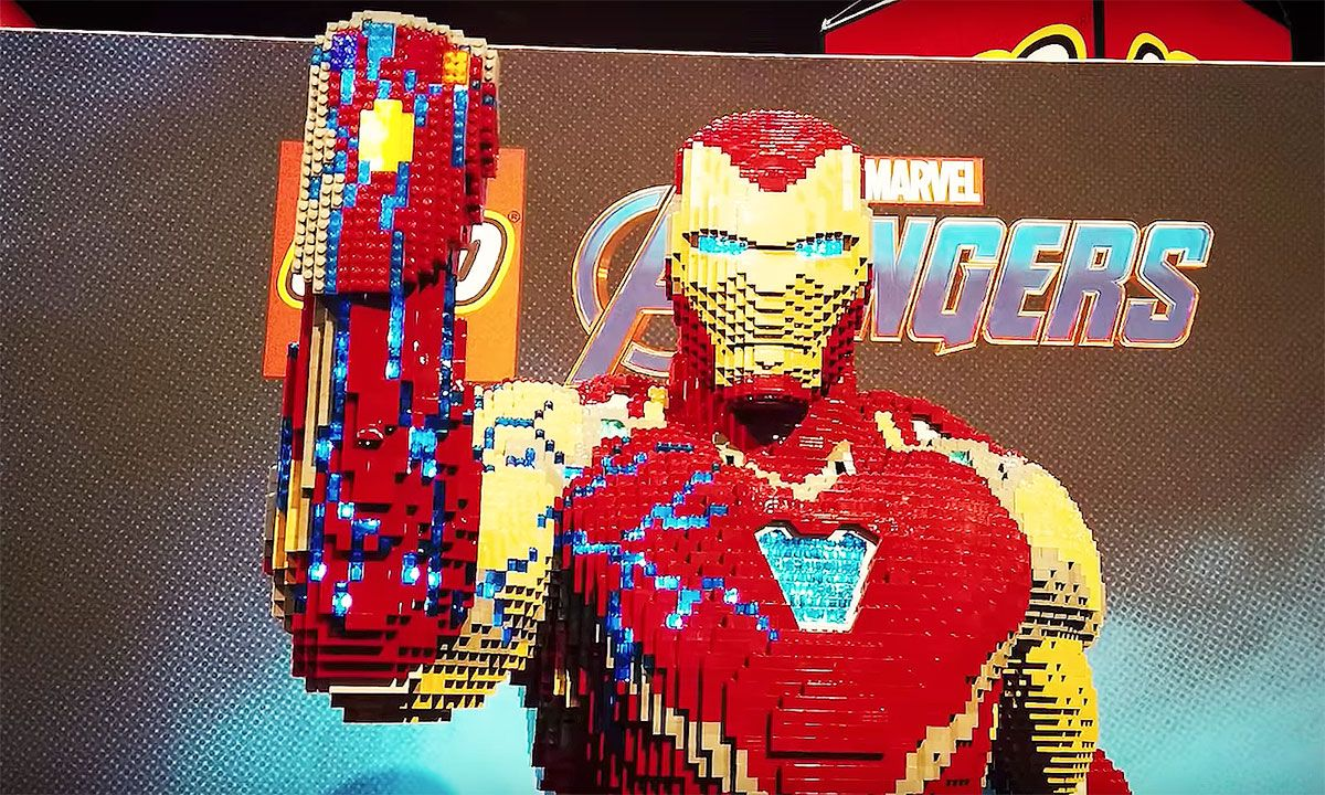 Watch LEGO Build an Insane 35,000 Piece Iron Man Model in New Behind-The-Scenes Video
