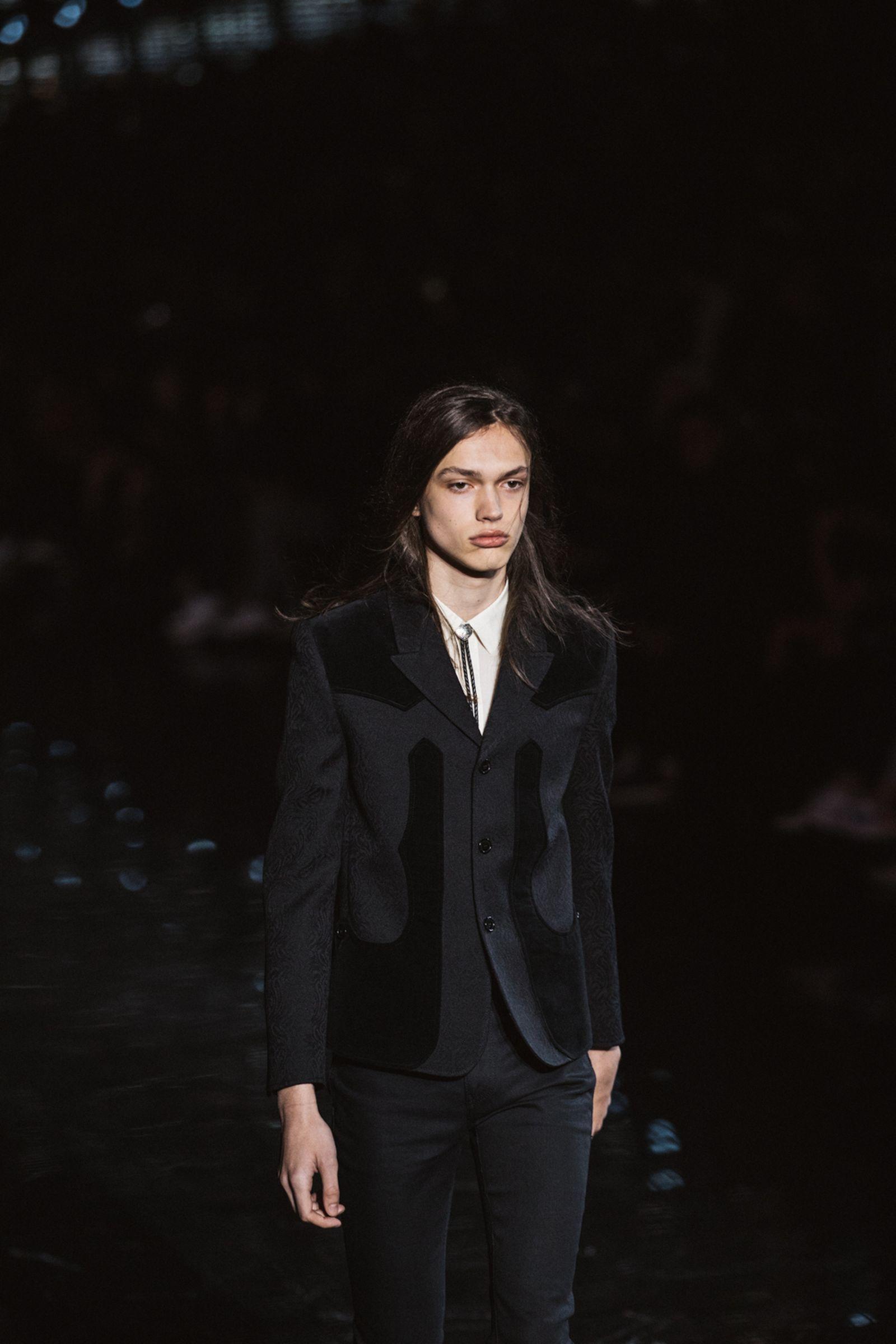 saint laurent Men's SS19 anthony vacarello fashion shows fashion week